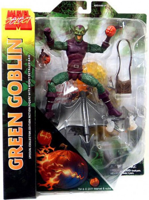 Marvel Select Green Goblin Action Figure [Holding Pumpkin]