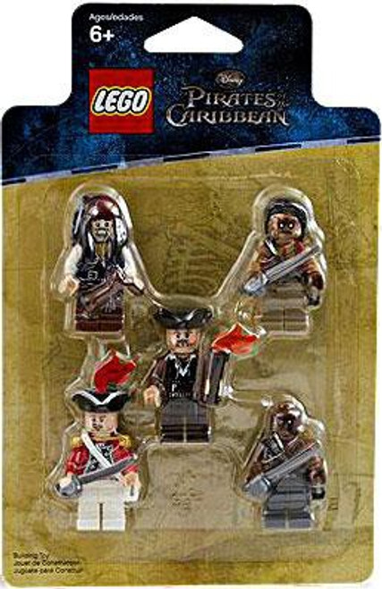 LEGO Pirates of the Caribbean Minifigure 5-Pack Set #853219