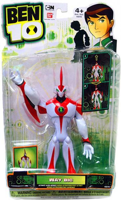 Ben 10 DNA Alien Heroes Way Big Action Figure