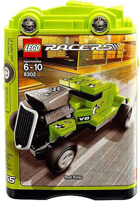 LEGO Racers Tiny Turbos Rod Rider Set #8302