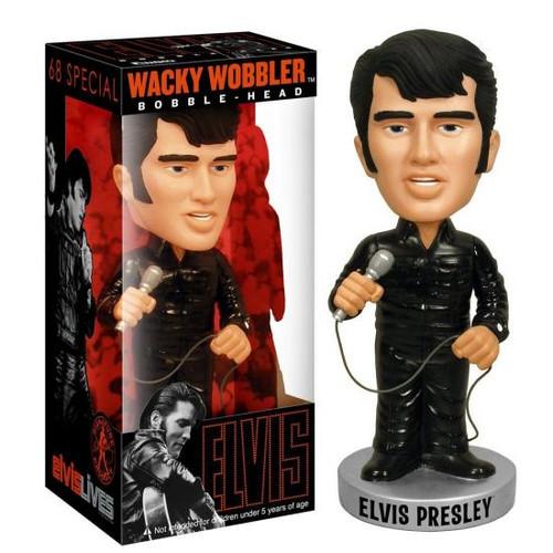 Funko Elvis Presley Wacky Wobbler '68 Special Elvis Bobble Head