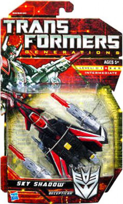 Transformers Generations Deluxe Sky Shadow Deluxe Action Figure
