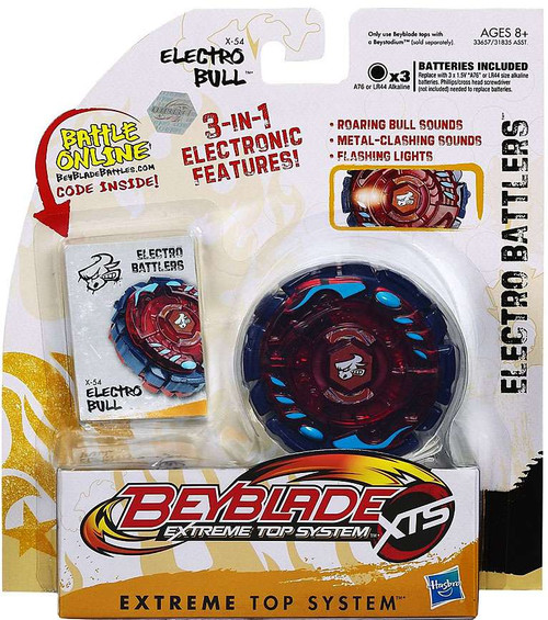 Beyblade XTS Electro Battlers Electro Bull X-54