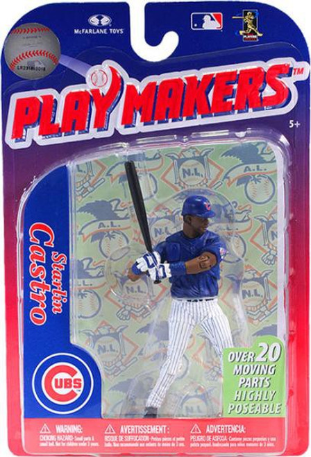McFarlane Toys MLB Chicago Cubs Playmakers Series 3 Starlin Castro Action Figure