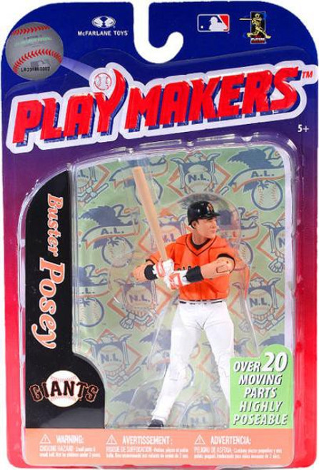 McFarlane Toys MLB San Francisco Giants Playmakers Series 3 Buster Posey Action Figure