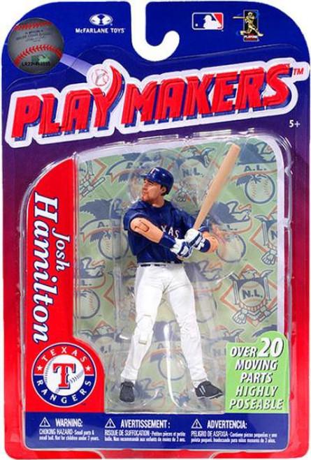McFarlane Toys MLB Texas Rangers Playmakers Series 3 Josh Hamilton Action Figure
