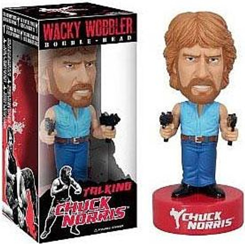 Funko Wacky Wobbler Chuck Norris Talking Bobble Head