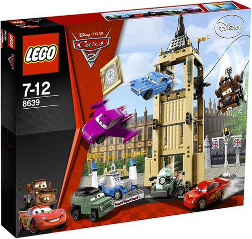 LEGO Disney Cars Cars 2 Big Bentley Bust Out Set #8639
