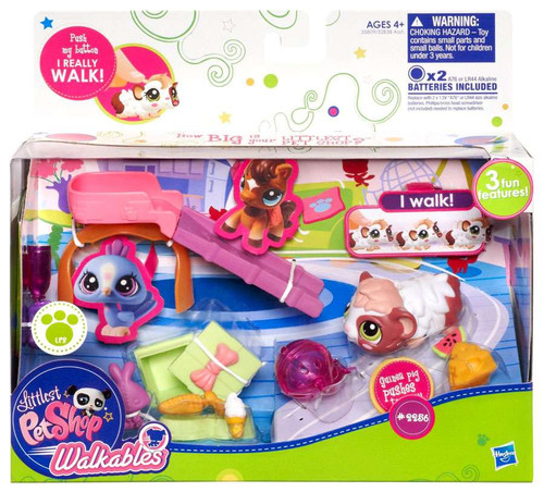 Littlest Pet Shop Walkables Guinea Pig & Ball Playset #2256