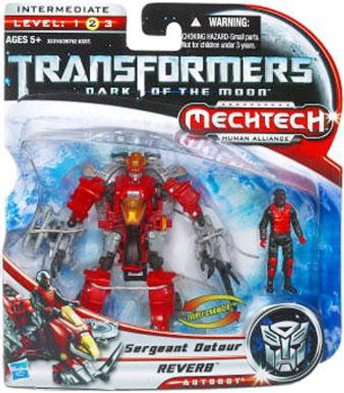 Transformers Dark of the Moon Mechtech Reverb with Sergeant Detour Action Figure Set