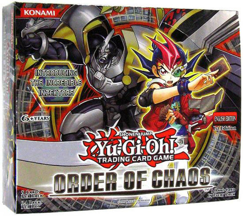YuGiOh Order of Chaos Booster Box [24 Packs] [Sealed]