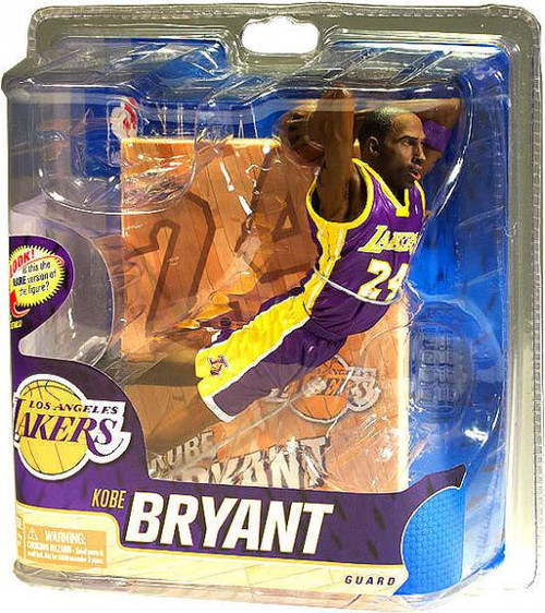 McFarlane Toys NBA Los Angeles Lakers Sports Picks Series 20 Kobe Bryant Action Figure [Purple Jersey]
