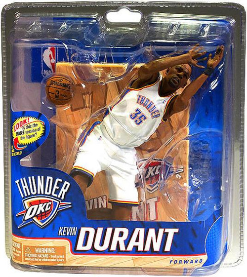 McFarlane Toys NBA Oklahoma City Thunder Sports Picks Series 20 Kevin Durant Action Figure [White Jersey]