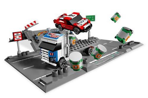 LEGO Racers Ramp Crash Set #8198 [Loose]
