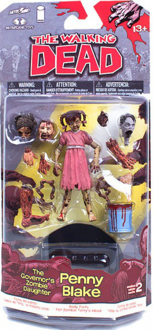 McFarlane Toys Walking Dead Comic Series 2 Penny Blake Action Figure [The Governor's Zombie Daughter]