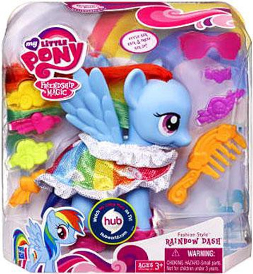 My Little Pony Friendship is Magic Fashion Style Rainbow Dash Figure