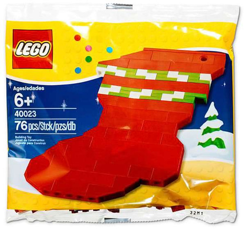 LEGO Holiday Stocking Mini Set #40023 [Bagged]