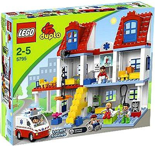LEGO Duplo Big City Hospital Set #5795