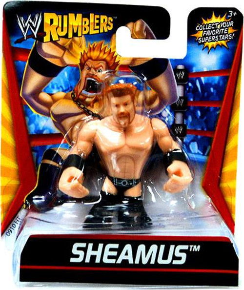 WWE Wrestling Rumblers Series 1 Sheamus Mini Figure [Black Outfit]