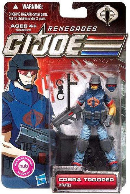 GI Joe 30th Anniversary Renegades Cobra Trooper Action Figure