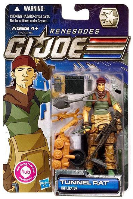 GI Joe 30th Anniversary Renegades Tunnel Rat Action Figure