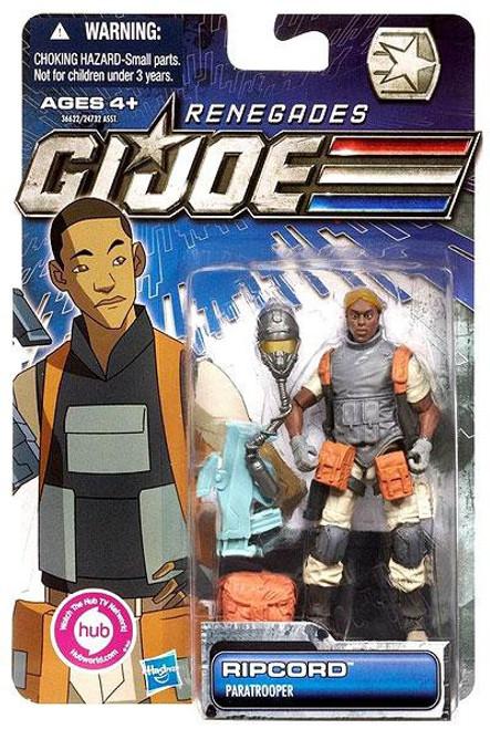 GI Joe 30th Anniversary Renegades Ripcord Action Figure