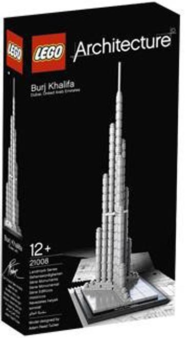 LEGO Architecture Burj Khalifa Set #21008