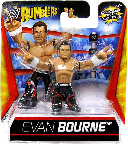 WWE Wrestling Rumblers Series 1 Evan Bourne Mini Figure