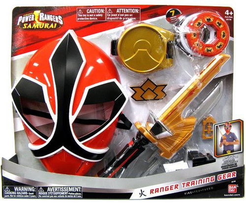 Power Rangers Samurai Ranger Training Gear Roleplay Toy [Fire]