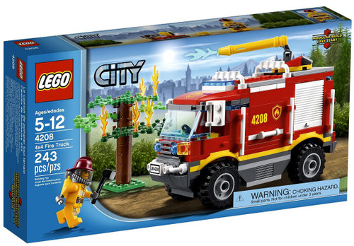 LEGO City 4X4 Fire Truck Set #4208