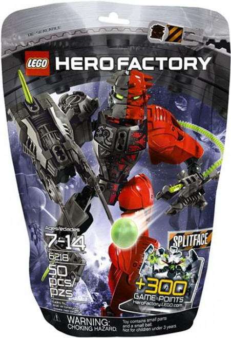 LEGO Hero Factory Splitface Set #6218