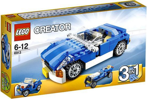 LEGO Creator Blue Roadster Set #6913