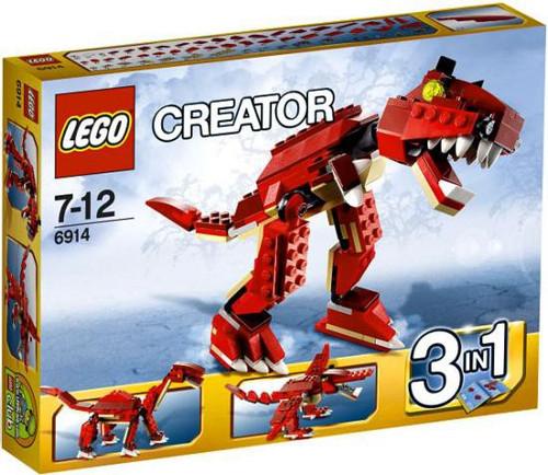 LEGO Creator Prehistoric Hunters Set #6914