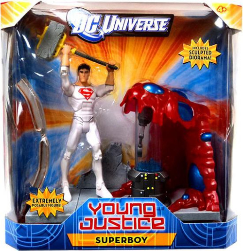 DC Universe Young Justice Superboy Action Figure [Solar Suit]