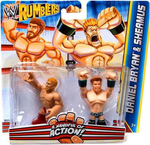 WWE Wrestling Rumblers Series 2 Daniel Bryan & Sheamus Mini Figure 2-Pack