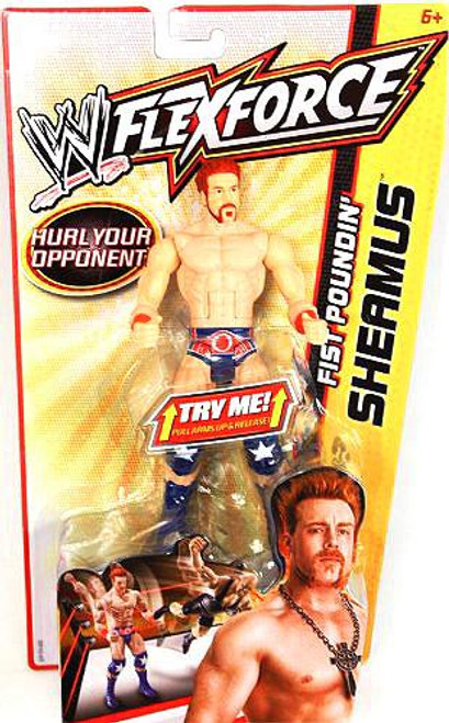 WWE Wrestling FlexForce Fist Poundin' Sheamus Action Figure