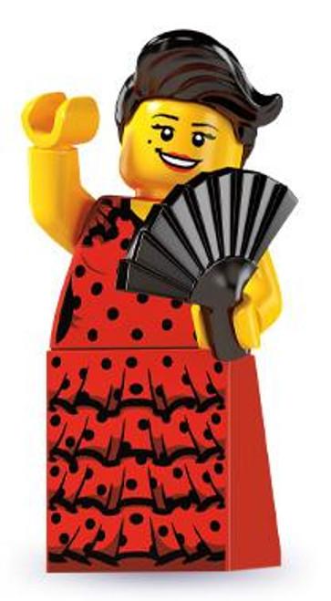LEGO Minifigures Series 6 Flamenco Dancer Minifigure [Loose]