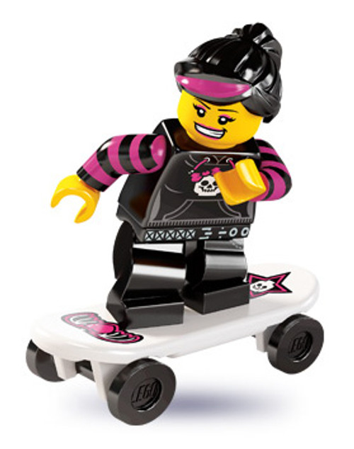 LEGO Minifigures Series 6 Skater Girl Minifigure [Loose]