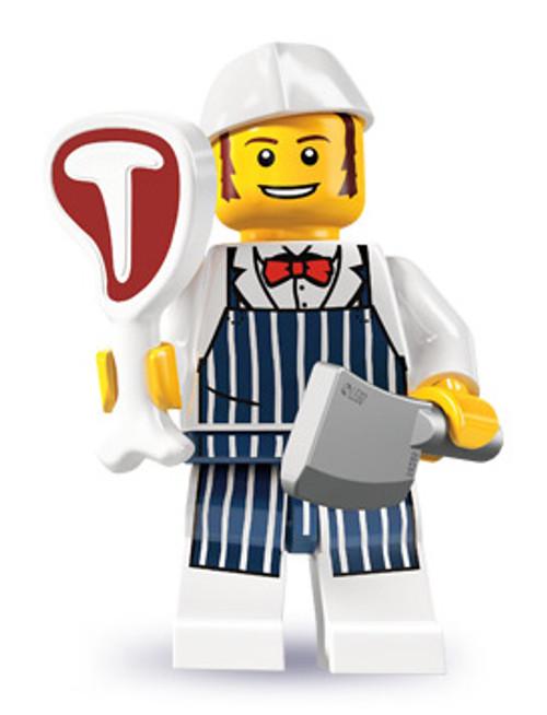 LEGO Minifigures Series 6 Butcher Minifigure [Loose]