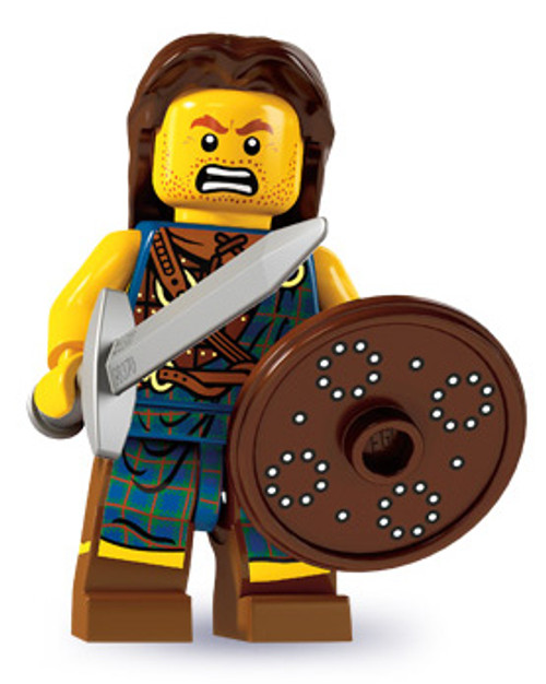 LEGO Minifigures Series 6 Highland Battler Minifigure [Loose]