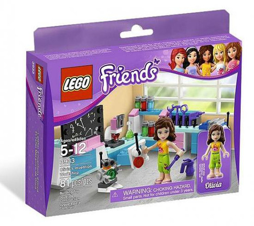 LEGO Friends Olivia's Invention Workshop Set #3933