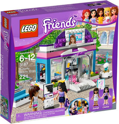 LEGO Friends Butterfly Beauty Shop Set #3187