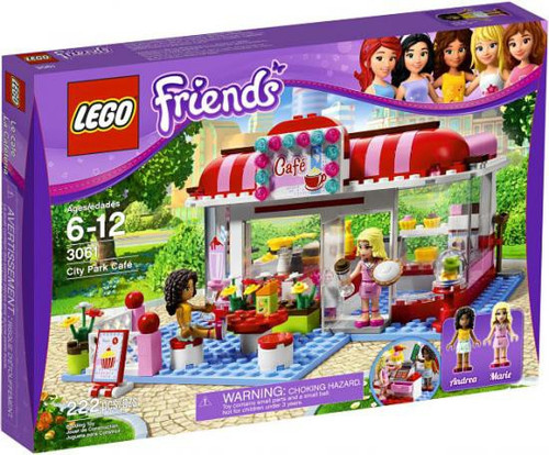 LEGO Friends City Park Cafe Set #3061