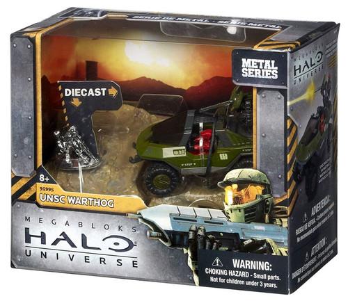 Mega Bloks Halo Metal Series UNSC Warthog Set #96995