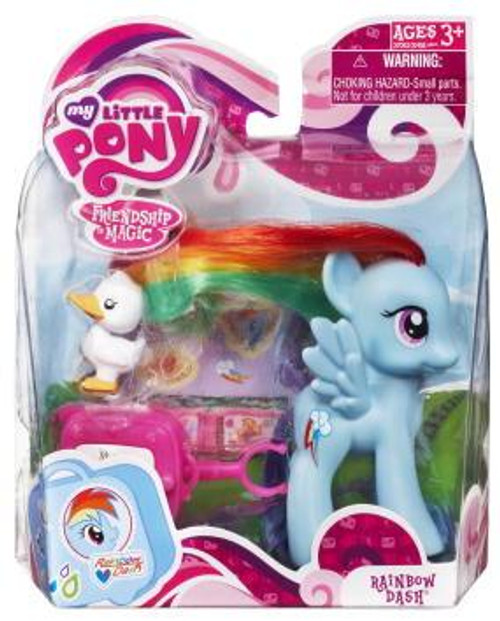 My Little Pony Friendship is Magic Basic Figures Rainbow Dash Figure #37062 [With Suitcase]