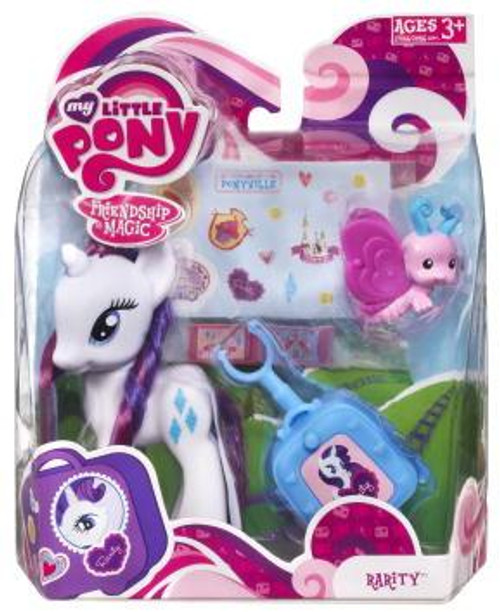 My Little Pony Friendship is Magic Basic Figures Rarity Figure #37066 [With Suitcase]