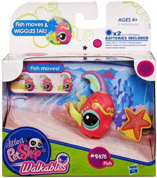 Littlest Pet Shop Walkables Fish Figure #2476 [Wiggles Tail]
