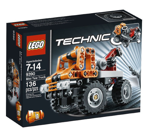 LEGO Technic Mini Tow Truck Exclusive Set #9390