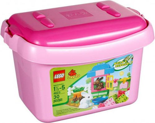 LEGO Duplo Pink Tub with Bunnies Set #4623