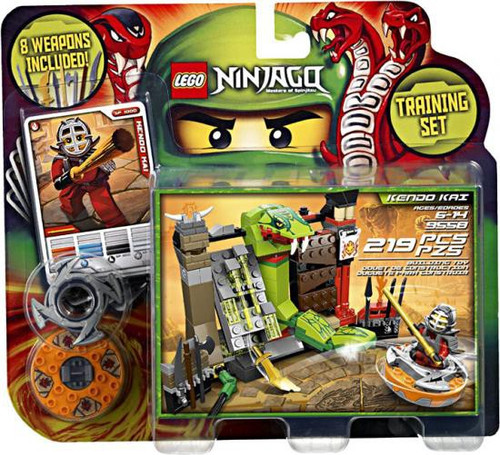 LEGO Ninjago Spinjitzu Spinners Kendo Kai Training Set Set #9558